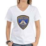 Compton Police Making It Bett Women's V-Neck T-Shi
