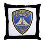 Compton Police Making It Bett Throw Pillow