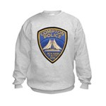 Compton Police Making It Bett Kids Sweatshirt