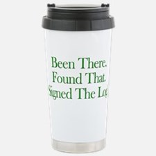 Been There. Found That. Travel Mug