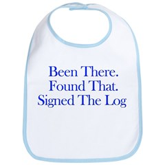 Been There. Found That. Bib