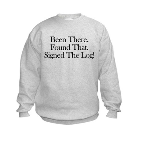 Been There. Found That. Kids Sweatshirt