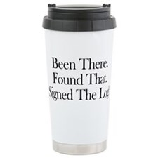 Been There. Found That. Travel Coffee Mug