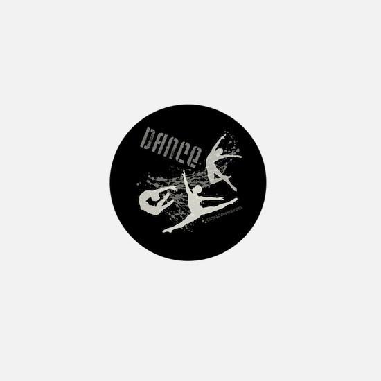 Dance (black) Mini Button