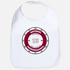 Alabama 13 National Champions Bib