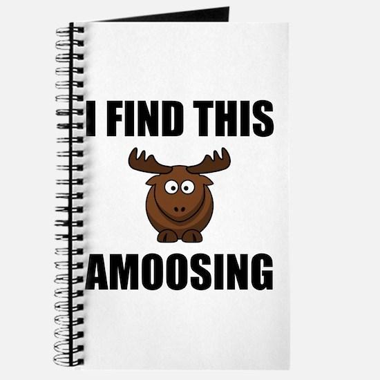 Find This Amoosing Moose Journal