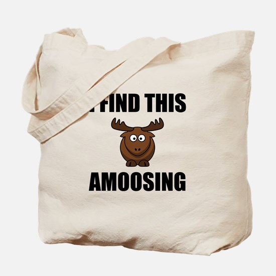Find This Amoosing Moose Tote Bag