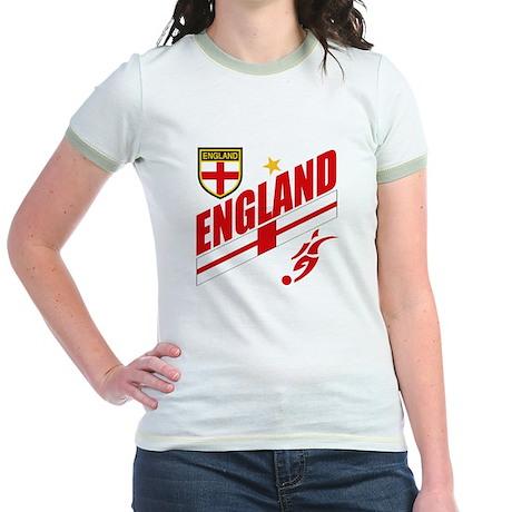 England World cup Soccer Jr. Ringer T-Shirt