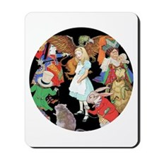 ALICE AND FRIENDS Mousepad