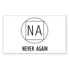 NA t-shirts & more Rectangle Decal