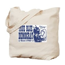 True Blue Democrat Donkey Tote Bag