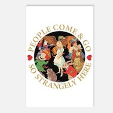 PEOPLE COME & GO Postcards (Package of 8)