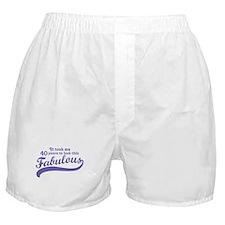 40 and Fabulous Boxer Shorts