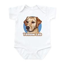 Yellow Lab Infant Bodysuit