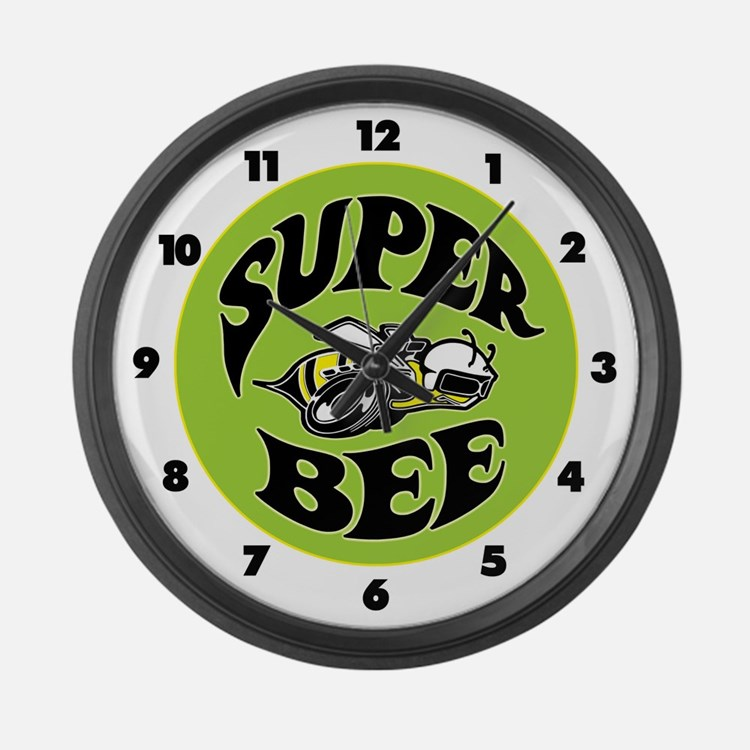 Super Bee Large Wall Clock