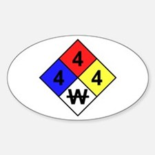 NFPA Diamond Oval Decal