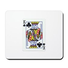 King of Clubs Mousepad