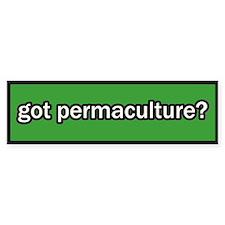 Got Permaculture Bumper Bumper Sticker