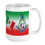 Mexican Mason Large Mug