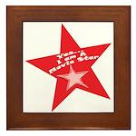 Movie Star Framed Tile