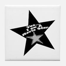 Movie Star Tile Coaster