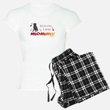 Cute Black labrador Pajamas