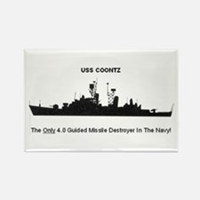 "USS Coontz DDG-40 ""4."" Magnet"