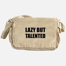 Lazy But Talented Messenger Bag