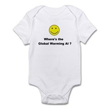 Global Warming Hoax Infant Bodysuit