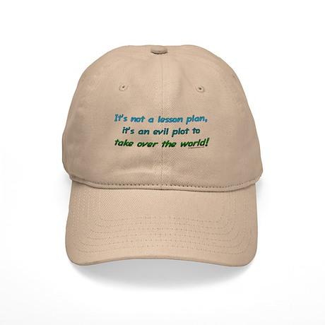 Evil lesson plan, teacher gift Cap