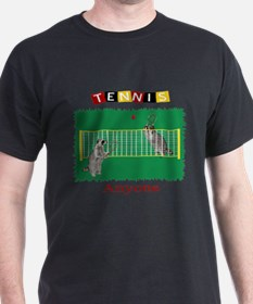 Raccoon Tennis T-Shirt