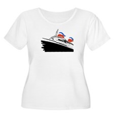 Big U Advertising Graphic T-Shirt