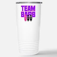 Team Barb Stainless Steel Travel Mug