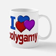 I Love Polygamy Mug