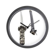 Samurai Sword Wall Clock