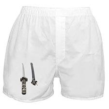 Samurai Sword Boxer Shorts