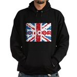 UK Flag - London Hoodie (dark)