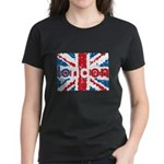 UK Flag - London Women's Dark T-Shirt