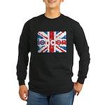 UK Flag - London Long Sleeve Dark T-Shirt