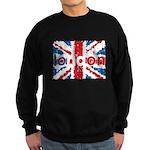 UK Flag - London Sweatshirt (dark)