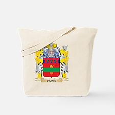 Parisi Family Crest - Coat of Arms Tote Bag