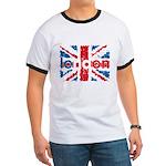 UK Flag - London Ringer T