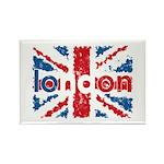 UK Flag - London Rectangle Magnet