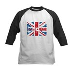 UK Flag - London Kids Baseball Jersey