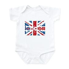 UK Flag - London Infant Bodysuit
