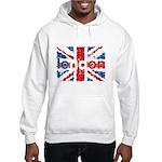 UK Flag - London Hooded Sweatshirt