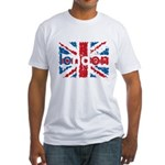 UK Flag - London Fitted T-Shirt