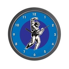 SteroidTShirts.com Wall Clock