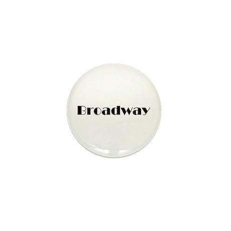 Broadway Mini Button (10 pack)