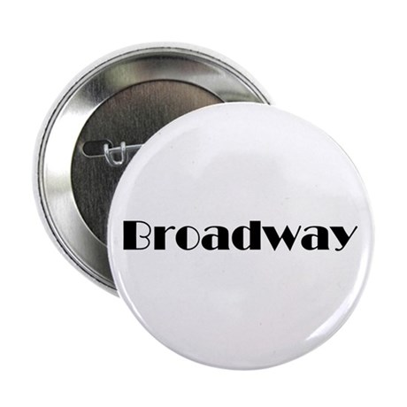"""Broadway 2.25"""" Button (100 pack)"""